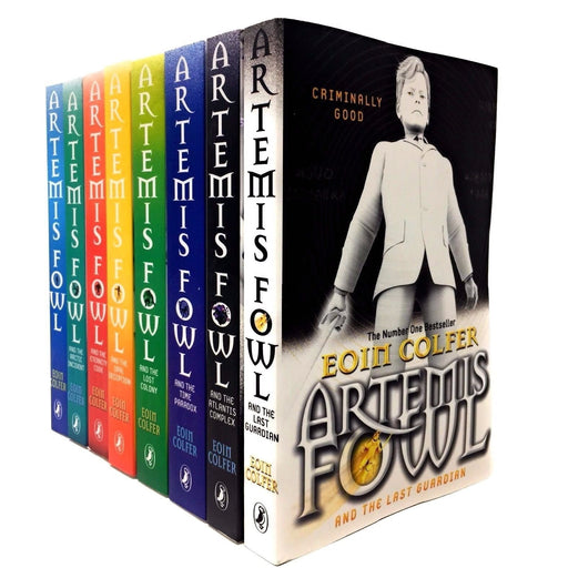 Artemis Fowl Collection 8 books set - The Book Bundle