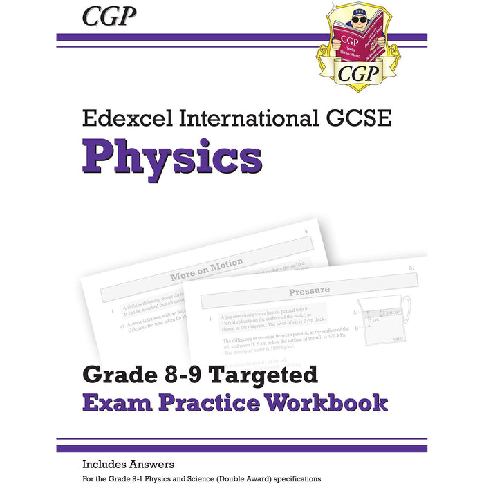 Cgp igcse 9-1 edexcel international gcse chemistry, biology, physics, 3 books collection set - grade 8-9 targeted exam practice workbook - The Book Bundle