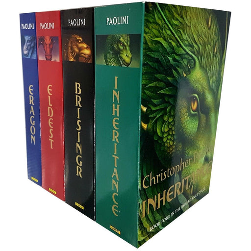 The Inheritance Cycle Christopher Paolini 4 Books Collection Set pack - The Book Bundle