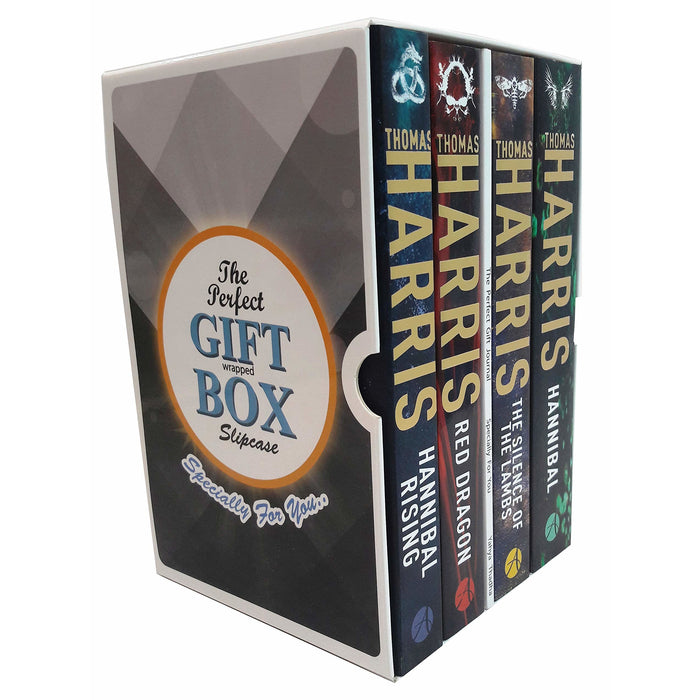 Thomas harris hannibal series 4 books collection gift wrapped box set - The Book Bundle