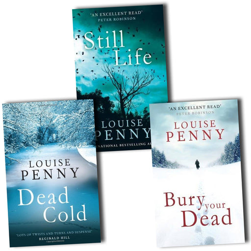 Louise Penny Collection Chief Inspector Gamache 3 Books Set Pack (Chief Inspector Gamache Collection) - The Book Bundle