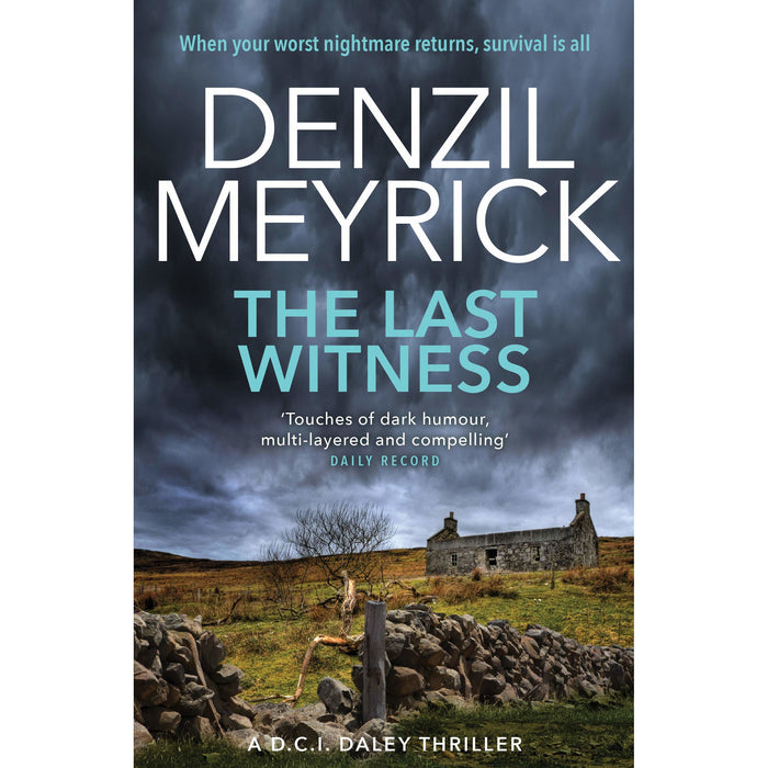 A DCI Daley Thriller Series 7 Books Collection Set By Denzil Meyrick - The Book Bundle