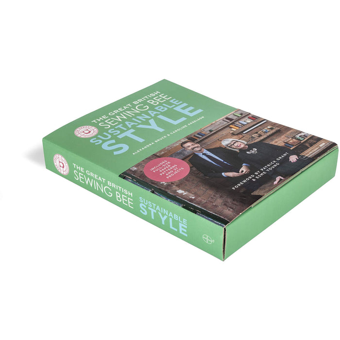 The Great British Sewing Bee: Sustainable Style (sewing projects for adults, beginner or advanced, with eco-friendly dressmaking tips) - The Book Bundle