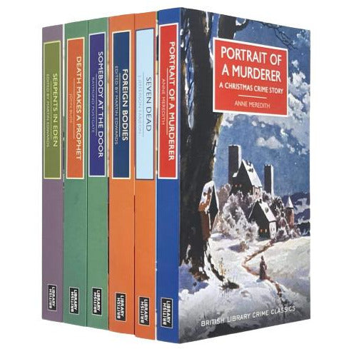 British Library Crime Classics Series 8 : 6 Books Collection Set - The Book Bundle