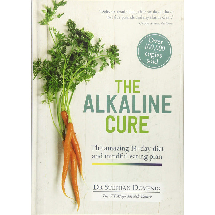 Healthy Eating everyday with The Alkaline Cure Diet and Anti ageing plan 2 Books Collection Set - The Book Bundle