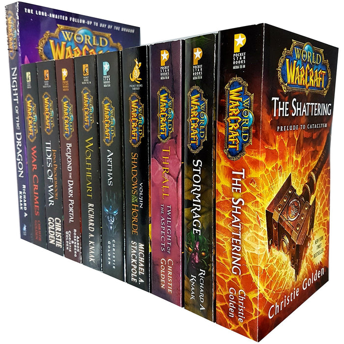 World of warcraft series 10 books collection set - The Book Bundle