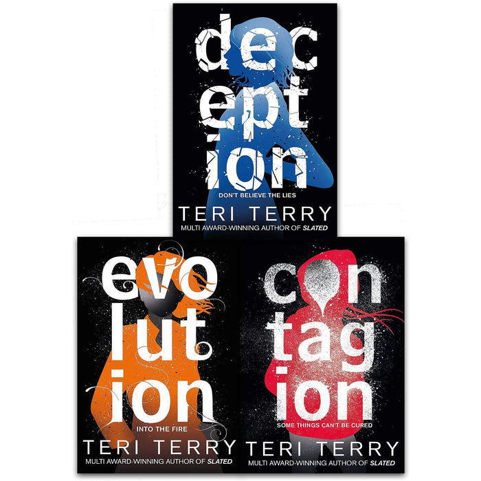 Dark Matter Trilogy 3 Books Collection Set by Teri Terry - Contagion, Deception, Evolution - The Book Bundle