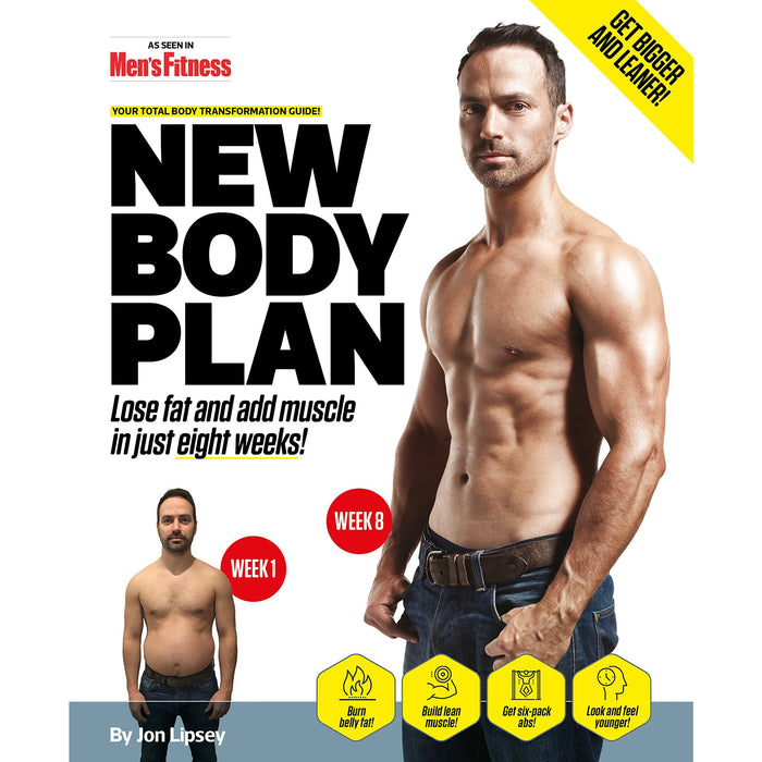 New Body Plan: Your Total Body Transformation Guide - The Book Bundle