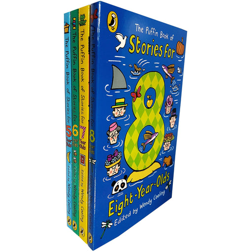 Puffin book of stories series wendy cooling (5-8) 4 books collection set - The Book Bundle