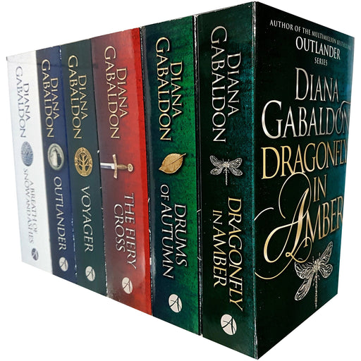Outlander Series Diana Gabaldon Collection (1-6) 6 Books Bundle Collection - The Book Bundle