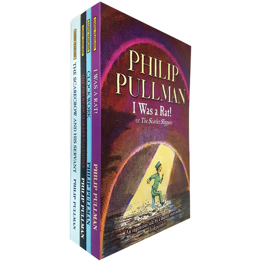 philip pullman collection 4 books set (the firework maker's daughter, clockwork, i was a rat!: or, the scarlet slippers) - The Book Bundle