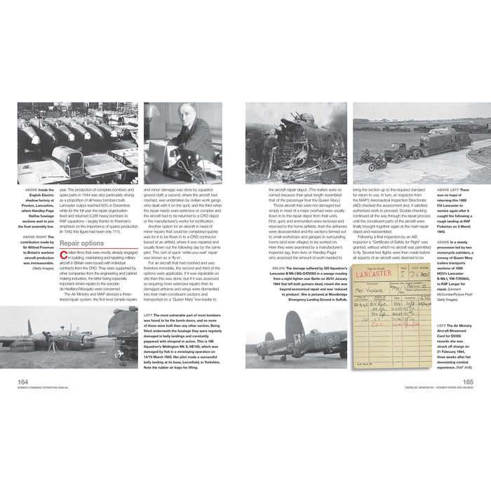 Bomber Command Operations Manual: Insights Into the Organisation, Equipment, Men - The Book Bundle
