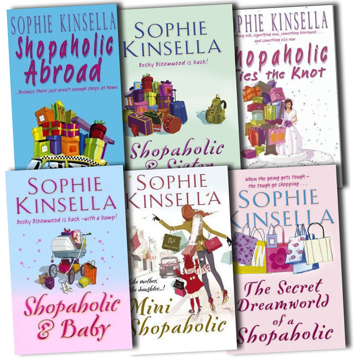Shopaholic Collection Sophie Kinsella 6 Books Set Pack - The Book Bundle