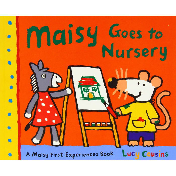 Maisy Mouse 10 books Collection: Maisy Goes to Nursery / Maisy Goes on Holiday / Maisy Goes to Hospital / Christmas Eve / Goes to the City - The Book Bundle