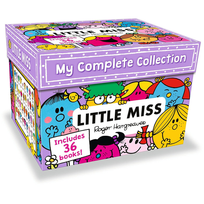 Little Miss 36 Books My Complete Collection Box Set By Roger Hargreaves - The Book Bundle