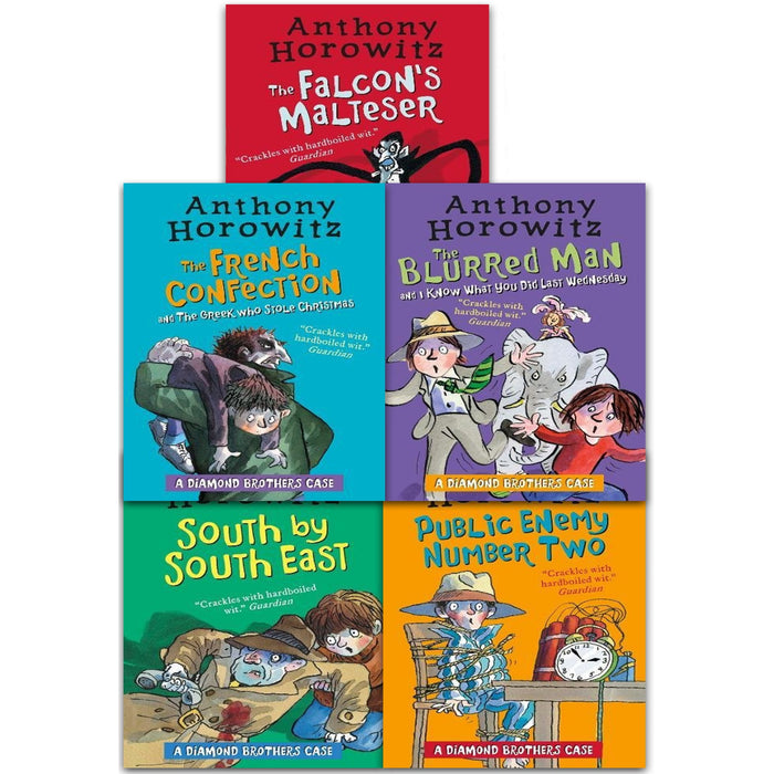 Diamond Brothers 5 Books Collection Pack Set with 7 Titles - The Book Bundle
