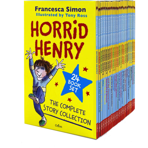 Horrid Henry The Complete Story Collection 24 Books Box Set - The Book Bundle