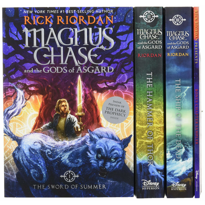 Magnus Chase and the Gods of Asgard Set - The Book Bundle