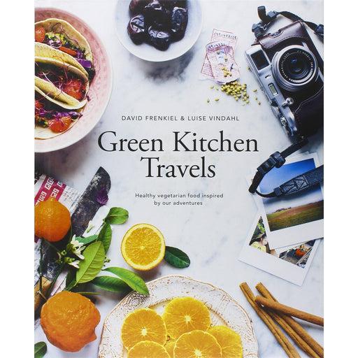Green Kitchen Travels: Healthy vegetarian food inspired by our adventures (vegetarian family cookbook, cooking for family, healthy eating) - The Book Bundle
