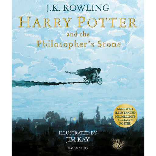 Harry Potter and the Philosopher's Stone By J.K. Rowling - The Book Bundle