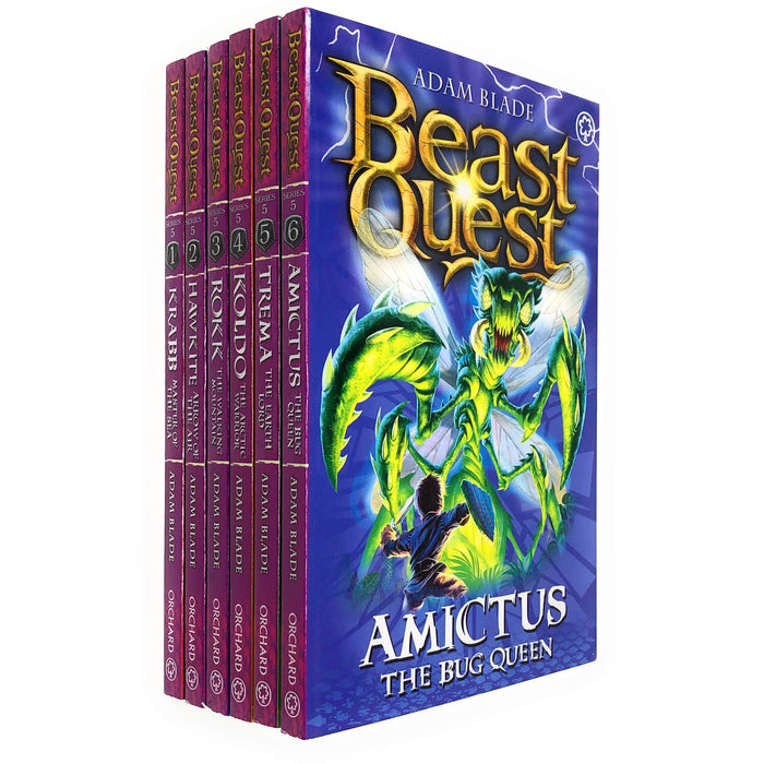 Beast Quest Pack: Series 5, 6 books - The Book Bundle