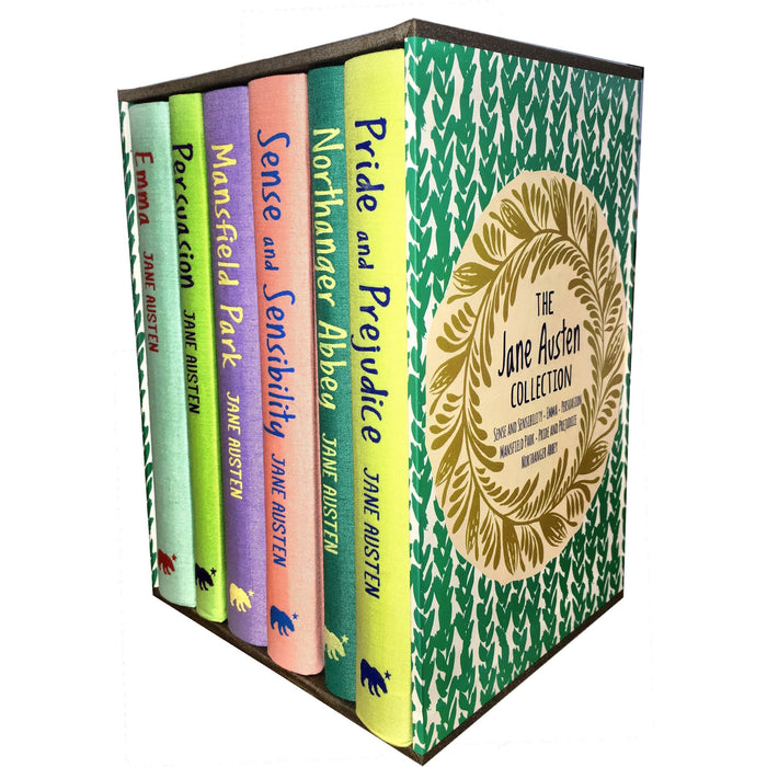 Jane Austen Collection, Deluxe Box Gift Set: Pride&Prejudice, Emma, Sense&Sensibility, Persuasion, Mansfield, Northanger Abbey - The Book Bundle