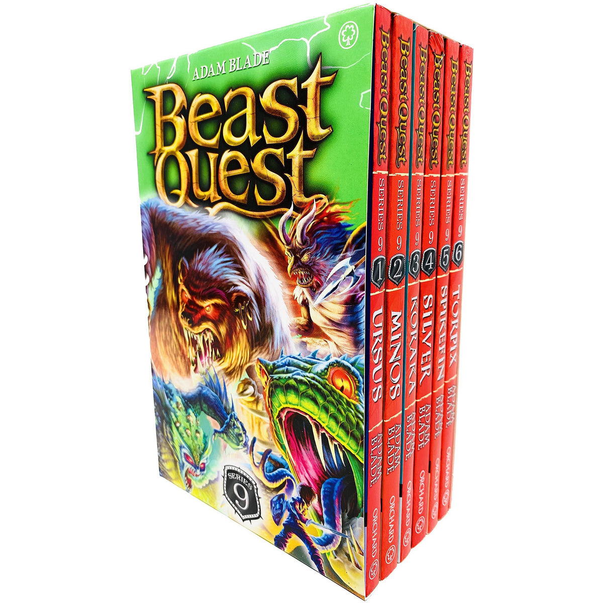 beast quest pack series 9 6 books  the book bundle