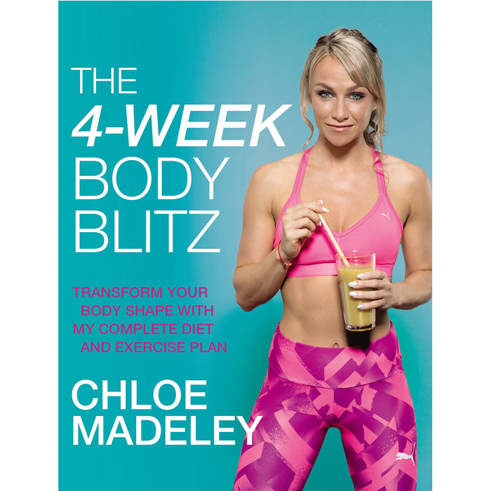4 week body blitz chloe madeley, fast metabolism diet, body reset diet smoothies, the medical autoimmune, dash diet 5 books collection set - The Book Bundle