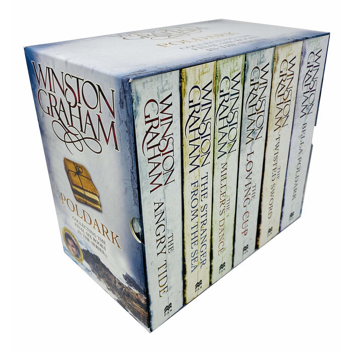 Poldark by Winston Graham Series Books 7 - 12 Gift Box Set Collection Set - The Book Bundle