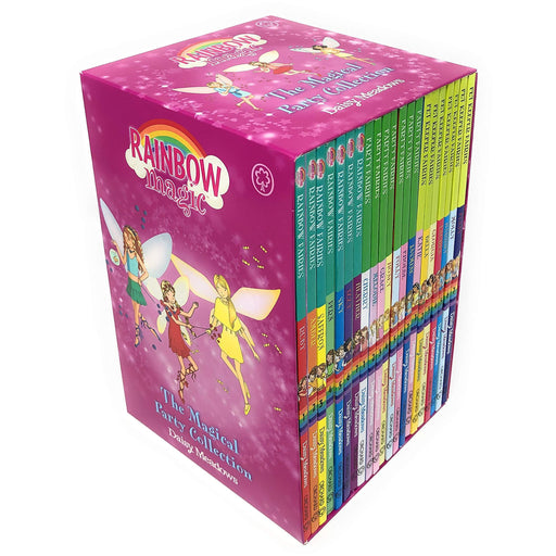 Rainbow Magic The Magical Party Collection 21 Books Set Including 3 Series by Daisy Meadows (Rainbow Fairies, Party Fairies & Pet Keeper Fairies) - The Book Bundle