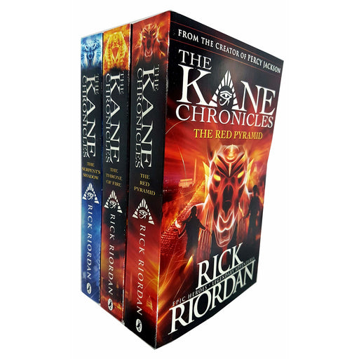The Kane Chronicles Collection 3 Books Set Pack RRP: £28.97 (Rick Riordan) - The Book Bundle