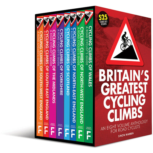 Britain's Greatest Cycling Climbs - The Book Bundle