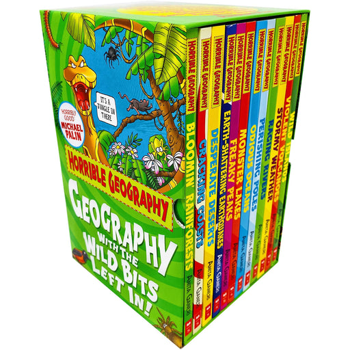 Horrible Geography 12 Books Box Collection Set by Anita Ganeri - The Book Bundle