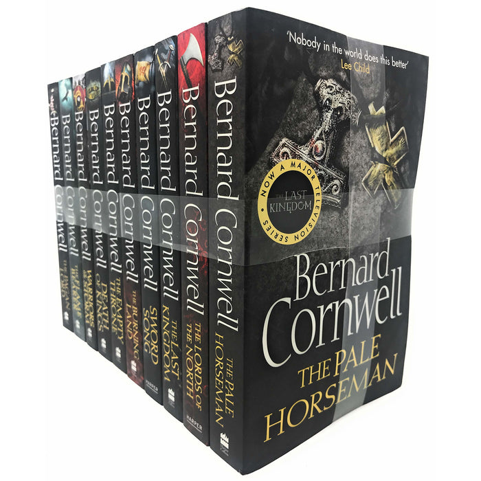 Bernard Cornwell The Last Kingdom Series 10 Books Collection Set Paperback - The Book Bundle