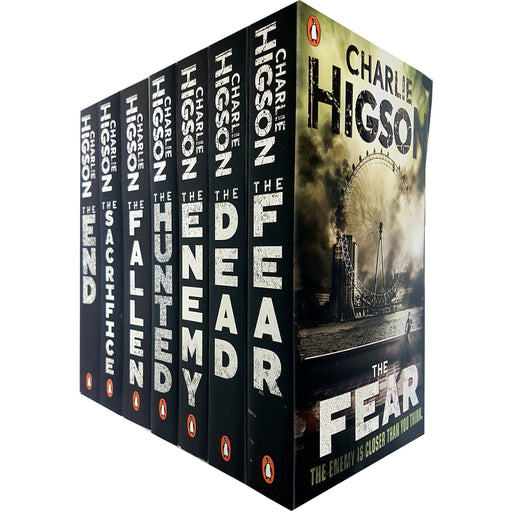 Charlie Higson The Enemy Series 7 Books Collection Set (The Enemy, The Dead, The Fear, The Scarifice, The Fallen, The Hunted, The End) - The Book Bundle