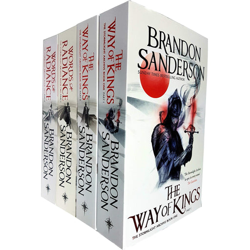 Brandon Sanderson The Stormlight Archive Series 4 Books Bundle Collection - The Book Bundle