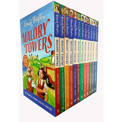 Enid Blyton Malory Towers collection 12 books set - The Book Bundle