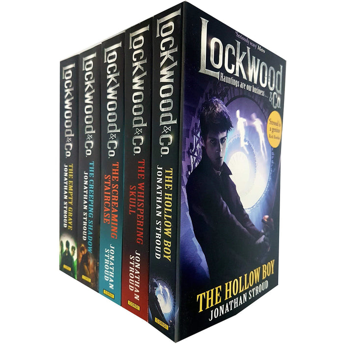 Lockwood and Co Series 5 Books Collection Set by Jonathan Stroud - The Book Bundle