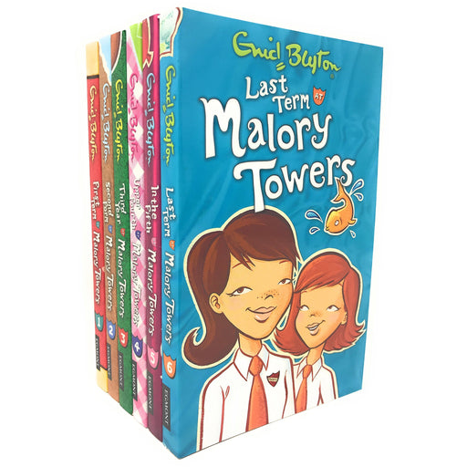 Enid Blyton's Malory Towers 6 Books Collection Set Pack (1 - 6) - The Book Bundle