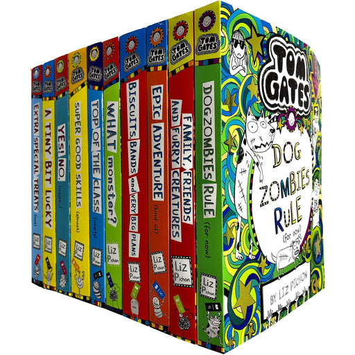 Tom Gates Series 2 & 3: 10 Books Collection Set By Liz Pichon - The Book Bundle