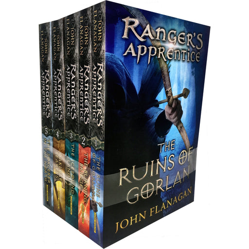 John Flanagan Rangers Apprentice Series 1 Collection Set 5 Books Set (Book 1-5) - The Book Bundle