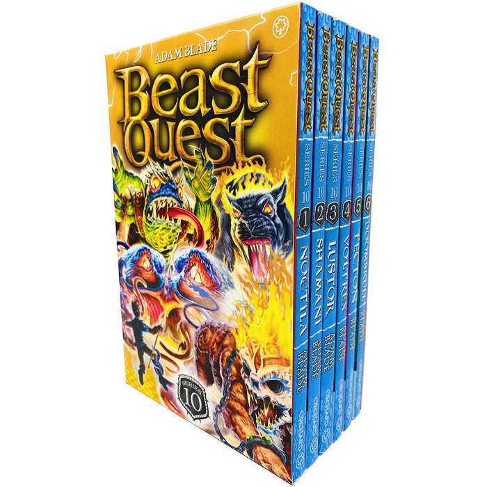Beast Quest Series 10 Box Set Books 1 - 6 Collection - The Book Bundle