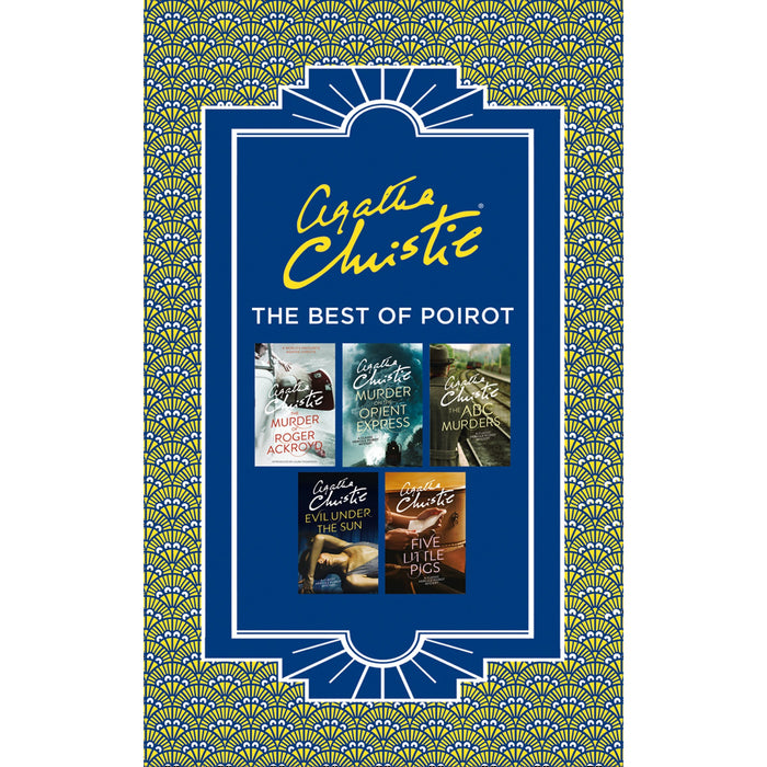 Best of Poirot: The Murder of Roger Ackroyd, Murder on the Orient Express, ABC Murders, Evil Under the Sun and Five Little Pigs - The Book Bundle
