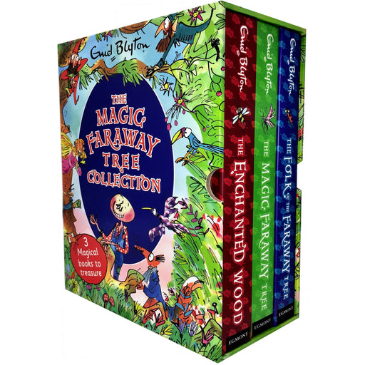 Enid Blyton The Magic Faraway Tree Collection 3 Books Box Set - The Book Bundle