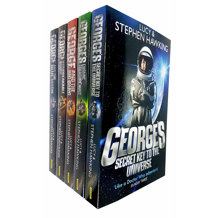 Stephen Hawking George's secret key to the universe series 5 books collection set Paperback - The Book Bundle