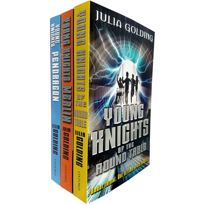 Young Knights Trilogy 3 Books Collection Set By Julia Golding - The Book Bundle