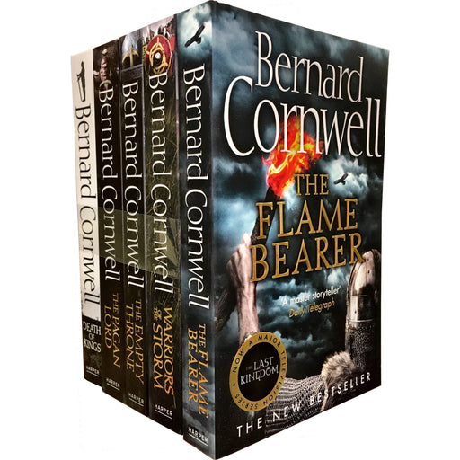 Bernard Cornwell Warrior Chronicles, The Last Kingdom Series 2 Books Set Collection Pack - The Book Bundle