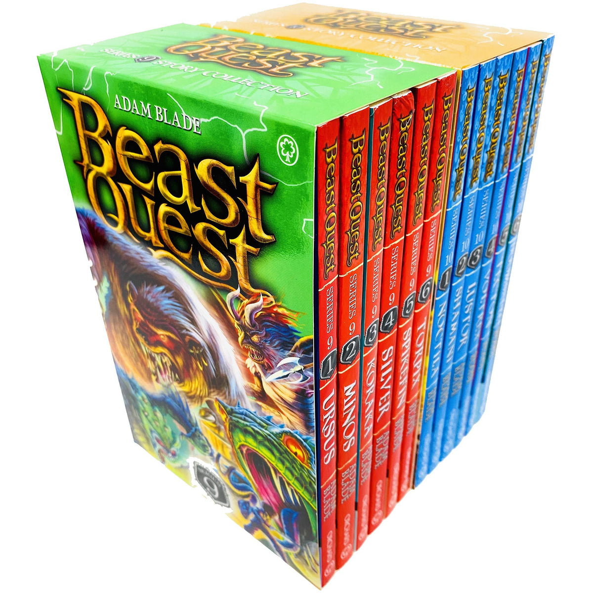 beast quest series 9  10 box sets 12 books collection