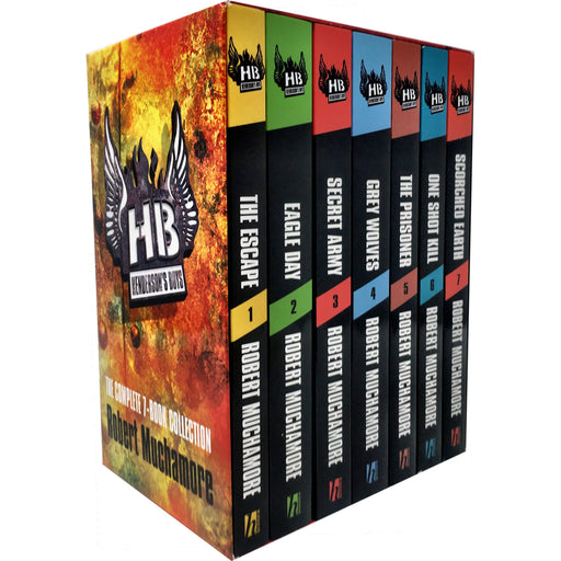 Hendersons Boys 7 Books Collection Set by Robert Muchamore - The Book Bundle