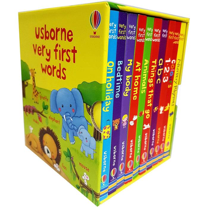 Usborne very first words collection 10 books set - The Book Bundle